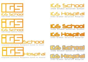 Logo iGS School and Hospital by astayoga