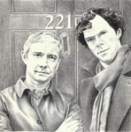 John and Sherlock by Annocent