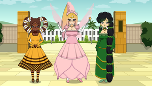 Princess Outfits and Hairstyles! (With Exports!) by xSamiamrg7x