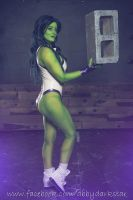 She-Hulk - Kotobukiya Version by AbbyDark-Star