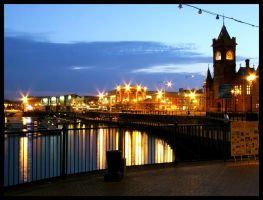 Cardiff Bay Skyline by MrDarcey