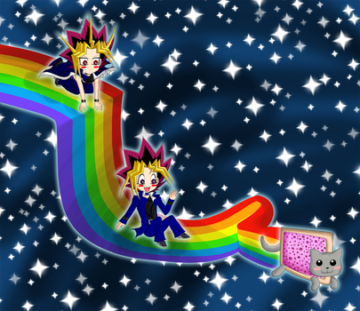 WYuugi Nyan Cat by AibouFTW