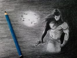 Shiva the Destroyer by it9chi