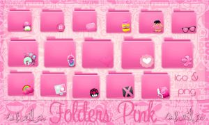 Folders Pink(Colours Folders) by SheyEdittions
