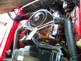 '67 Olds 400-cid W-30 by DetroitDemigod