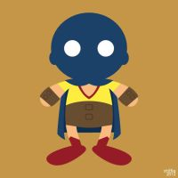 ADC: Golden Age Atom by striffle