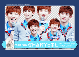 [PACK PNG] Chanyeol by Ashleylovesel