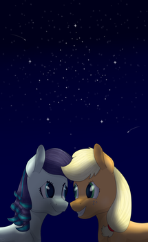 The brightest star i've ever seen shine by MrDual