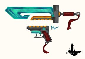 Eternity - Isaac Weapons by LauraSan