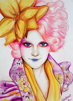 Effie Trinket by AnnieIsabel