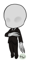 Chibi Slender Man by UrBubbleFace