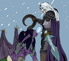Battle on the Tundra by Project-Ikara