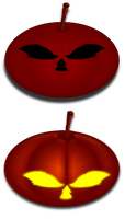 Helloween Pumpkin Icons by keeperxiii