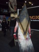 Anime Expo - Pyramid Head by BabemRoze