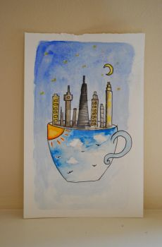 The One with the City in the Teacup by jasminenicolex