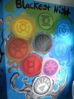 Blackest Night Wall by LOSHComixfan