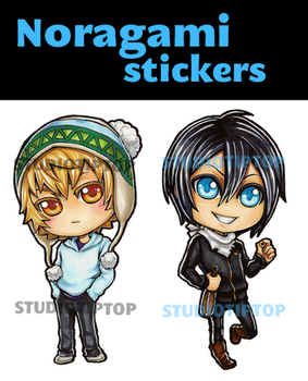 Noragami Stickers by StudioTipTop