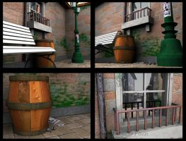 Exterior Objects by 3dmodeling