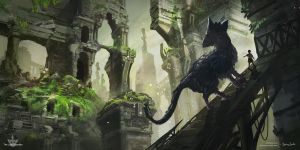 Last Guardian fanart by Mei-Xing