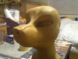 NEW Wolf canine mask sculpt by ShaggyGriffon