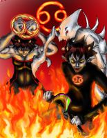 Karkat:Fury of the Signless by 8thMidknight