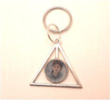 Harry Potter, deathly hallows sign, charm by MiniSweetx