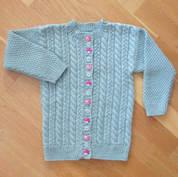 Cotton Cardigan for Girl by ToveAnita