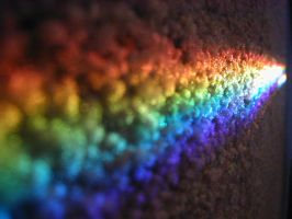 Rainbow Carpet 1 by Vlue