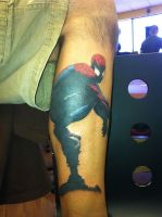 Spidey Tattoo by His-Highness-High