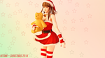 Hitomi -- Christmas 2014 by M00n-L4dY