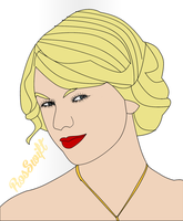 Taylor Swift Vector by RosSwift