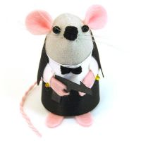 James Bond 007 Mouse by The-House-of-Mouse