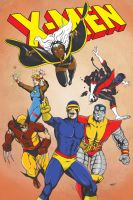 X-Men The Arcade Game Colors by MannyHernan
