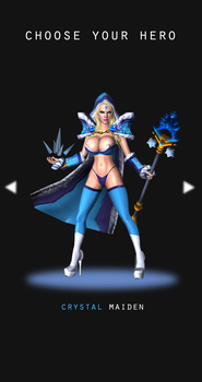 Choose Your Hero - Crystal Maiden by valray3