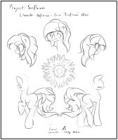 Project Sunflower - Erin Character reference by lightf4lls