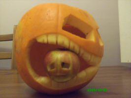 hungry pumpkin by Joe666Cool