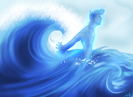 The Naiad in His Natural Habitat by geekgirl8