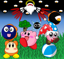 Kirby's Small Small World by Rotommowtom