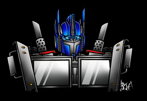 TF Prime: Optimus Prime by Berty-J-A