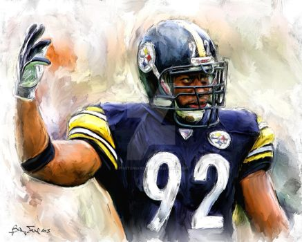 James Harrison Painting #92 by photoman356