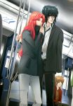 ::Commish:: In the subway by CloverDoe