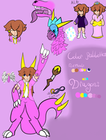 Reference: Dylaila by Ded-Fire-Dragon