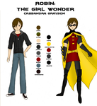 Character Sheet - Robin by girlwonder004