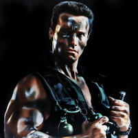 Arnolds Chwarzenegger-commando by donvito62