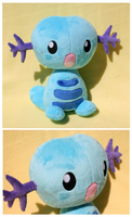 Comm- Wooper Plush by FollyLolly