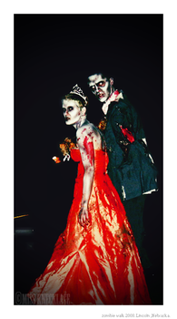 Zombie Walk 2008 - Prom Couple by miss-knecklace