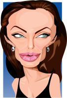 ANGELINA JOLIE Unfinished by kgreene