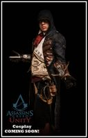 AC UNITY - ARNO - COMING SOON! by CreedCosplay