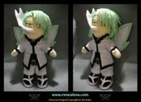 Commission - Arturo Plateado by renealexa-plushie