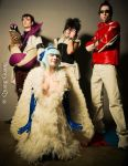 Cosplay Team Oracion Seis ( Fairytail ) by 06devilsasuke06